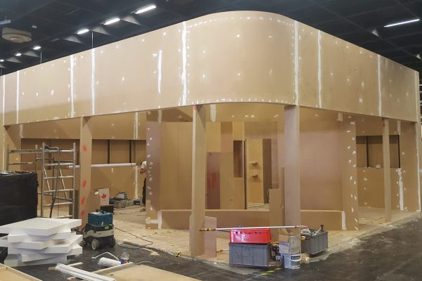 Booth design and construction for kind und jugend